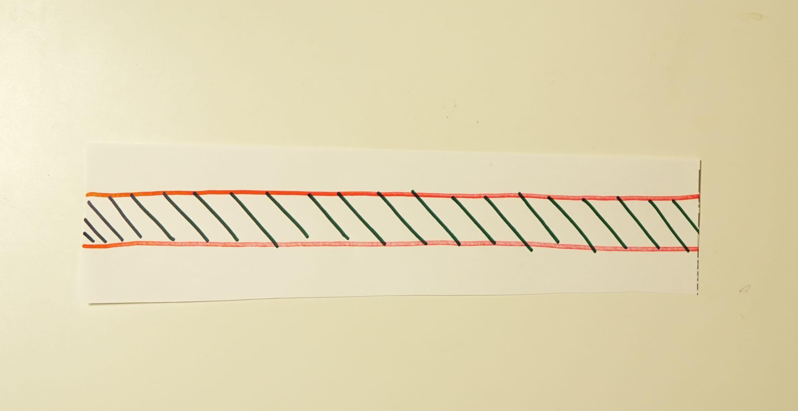 予想外。メビウスの輪に2本線を入れて切ったらどうなるの?実際にやってみた!の画像 10/12