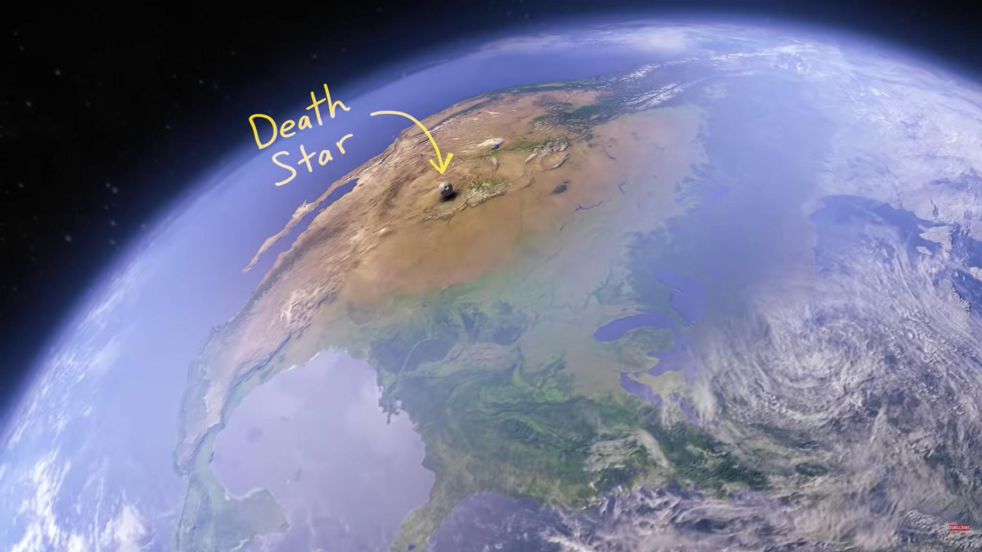 デス スター小さっ リアルで スター ウォーズ に登場する宇宙船を比較すると意外な結果に ナゾロジー