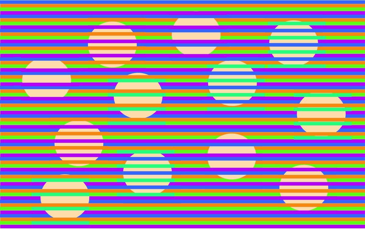 これ全部同じ色!? 絶対に脳が騙される「ムンカー錯視」がスゴイのでつくってみたの画像 1/4