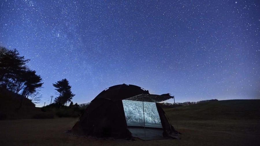 どこでも満天の星が見られる移動式「プラネタリウムテント」!  制作奮闘記を開発者にインタビュー