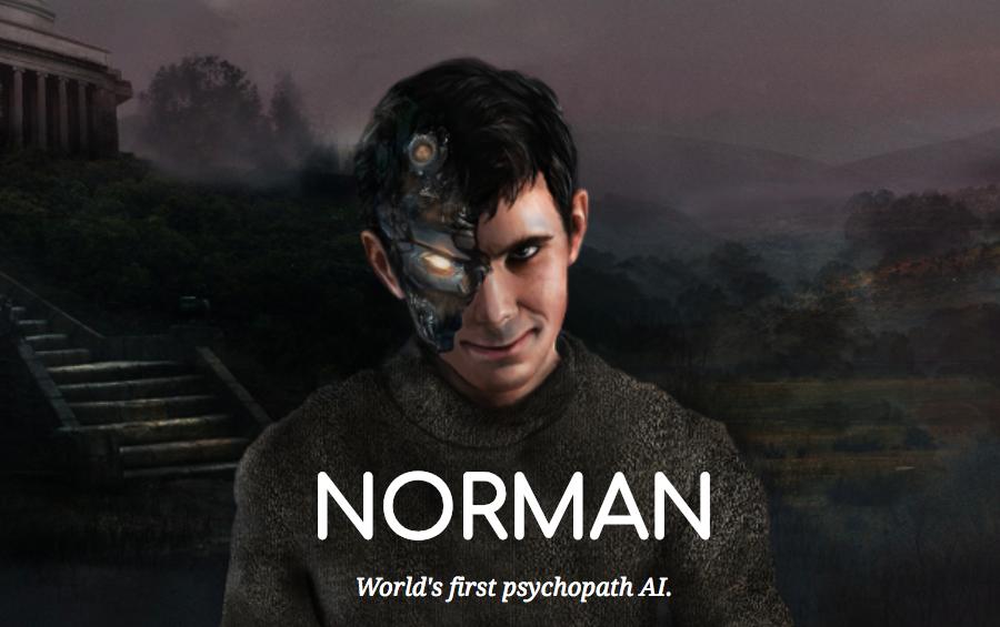 世界初のサイコパスAI「ノーマン」が怖すぎると話題に