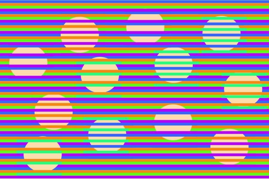 これ全部同じ色!? 絶対に脳が騙される「ムンカー錯視」がスゴイのでつくってみた