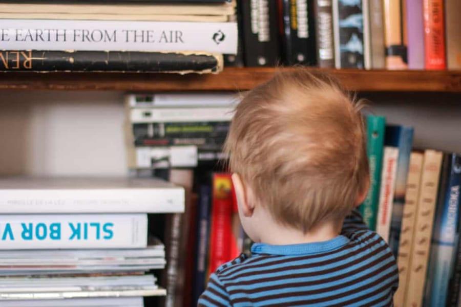 家庭の本棚にある「本の数」で子どもの能力が左右されるという研究