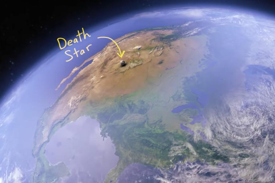 デス・スター小さっ!リアルで『スター・ウォーズ』に登場する宇宙船を比較すると意外な結果に