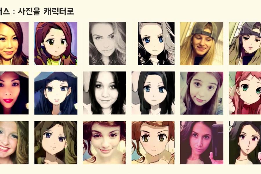 顔写真を「二次元アニメ風」に自動変換してくれるAI