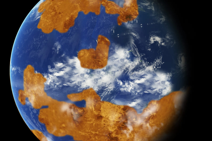 金星はかつて地球と変わらない惑星だった? 新事実がシミュレーションから明らかに