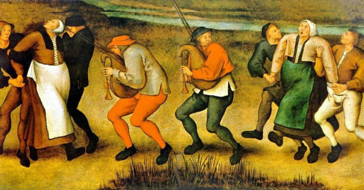 人類が経験した最も奇怪な疫病「踊りのペスト」とは
