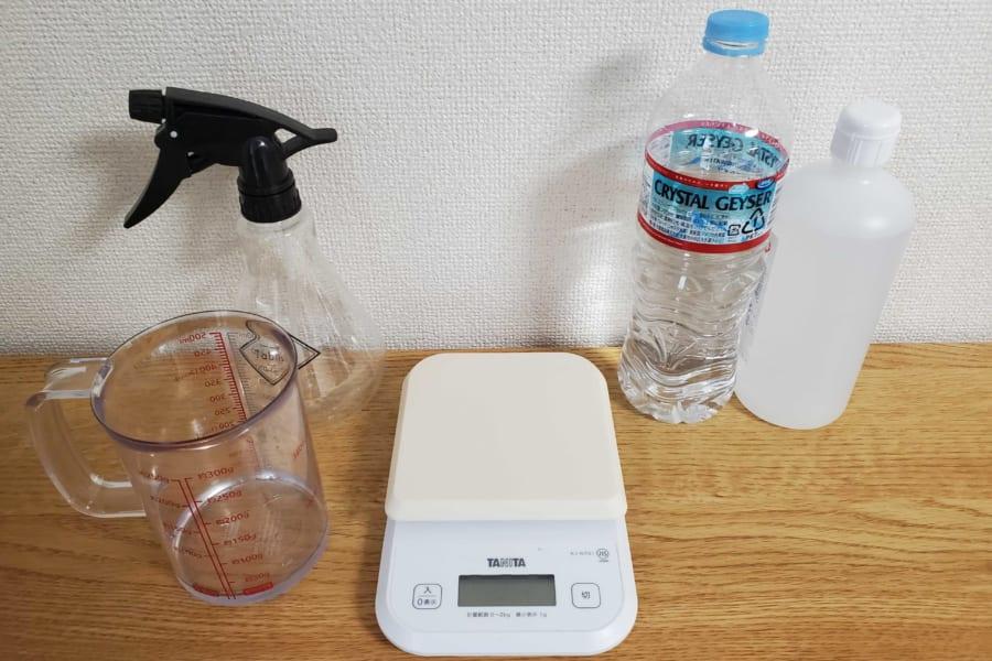 精製水じゃなくてOK! 水道水で正しく「消毒用アルコール」を作る方法