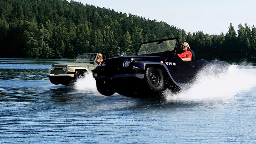 ジープそっくり!? ホンダのエンジンを載せた水陸両用車「パンサー」