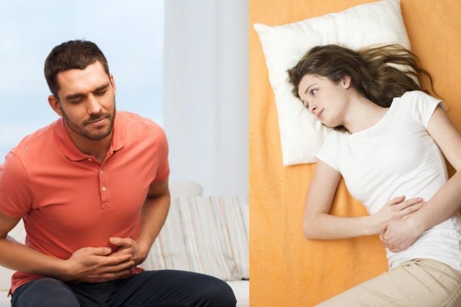 「男性に下痢、女性に便秘」が多い原因を特定!痛みを和らげる物質が大腸で働いていた