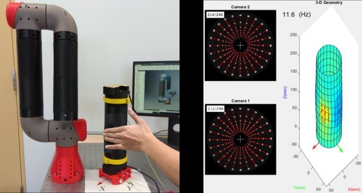 人間の「やさしく触れられている感覚」を再現するセンサーが開発される ロボット用の人工皮膚への応用に期待