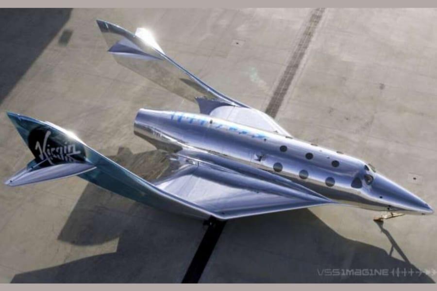 ギラッギラの宇宙船! ヴァージン・ギャラクティック社「VSS Imagine」に乗れる日も近い? 5月から飛行テストを開始予定