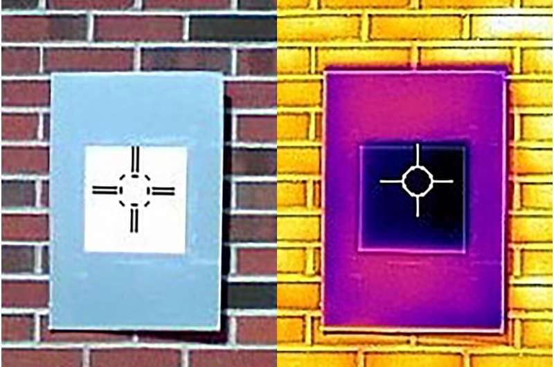 光反射率98.1%の「最も白いペンキ」が開発される。 塗装面が冷たくなってクーラーにもなる