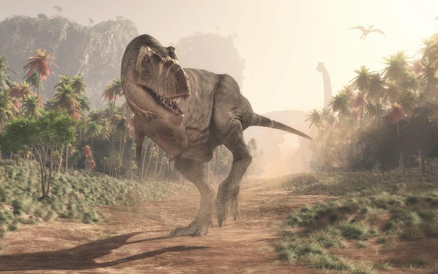 ティラノサウルスの歩く速さが想像以下だった